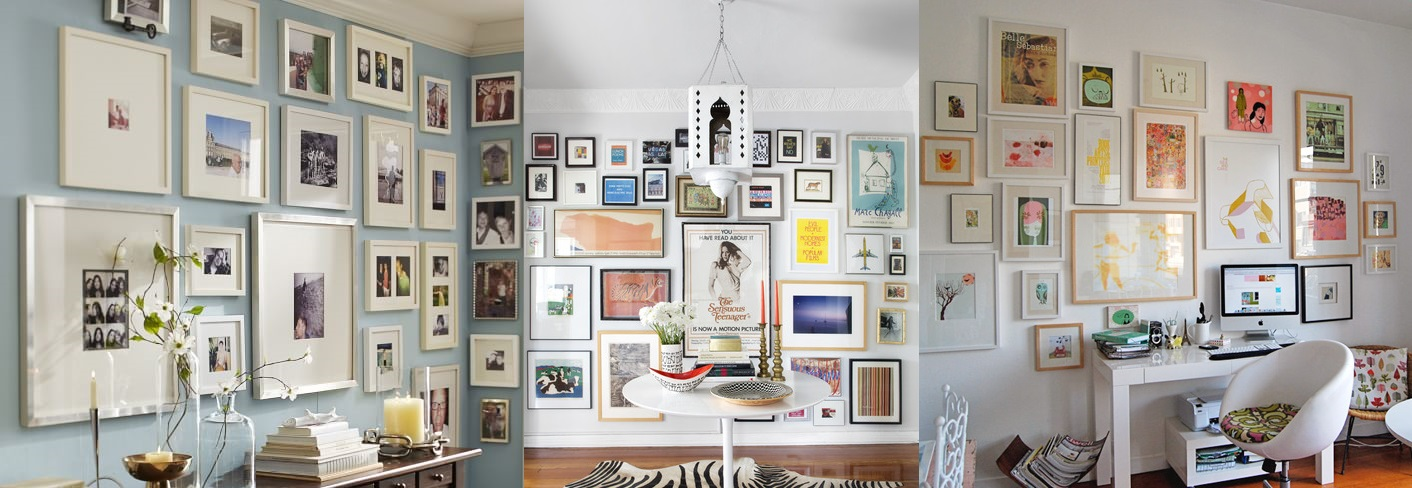 Gallery Walls are back!!! Whether it's big, small or somewhere in between, creating a gallery with your favourite photos and art pieces can instantly elevate the style of any house.