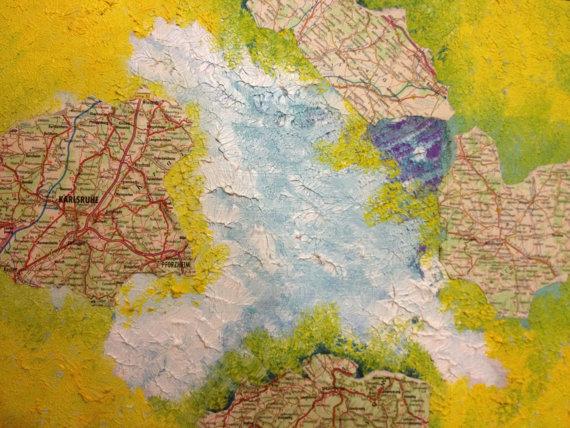 The Trip, oil in canvas, 0.30cm X 0.40cm by Areti Vassou