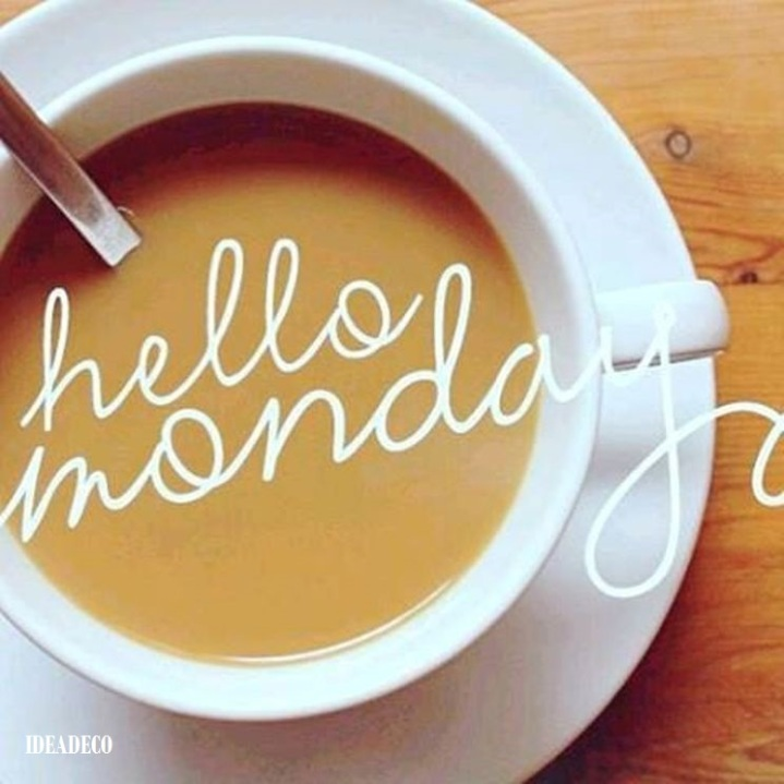 Welcome Monday let's make this brand New Week awesome.... We can do this, yes we can!!! IDEADECO ARETI VASSOU
