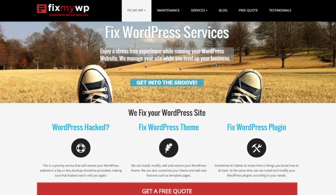 Doctor please, fix my WordPress