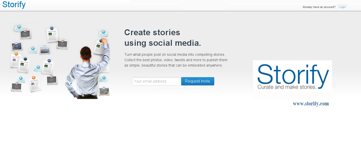 Tell me your story... Storify