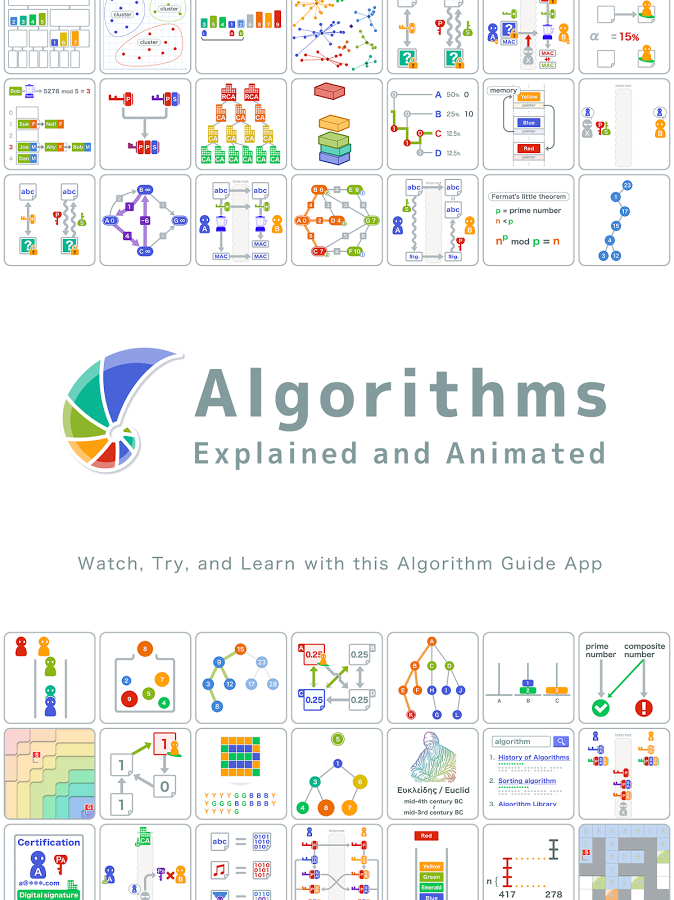 Algorithms Explained & Animated by Google Play