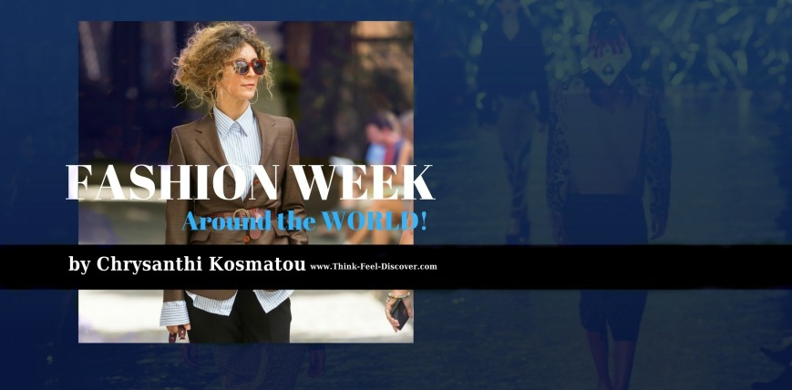 Fashion Week. Catwalk Highlights by Chrysanthi Kosmatou. Photographer credits: www.Think-Feel-Discover.com