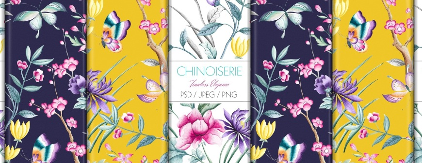 Creative Market Chinoiserie Prints