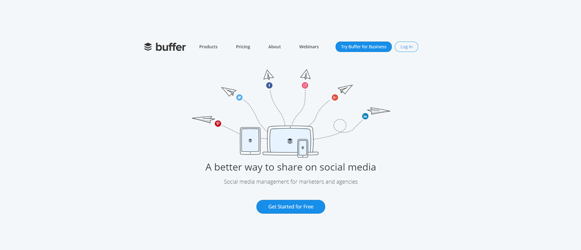 Social Media Sharing with Buffer
