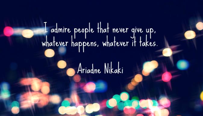 Ariadne Nikaki Interview