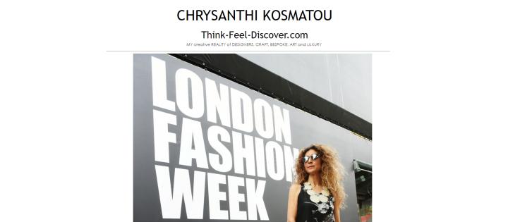 Chrysanthi Kosmatou, Fashion Stylist