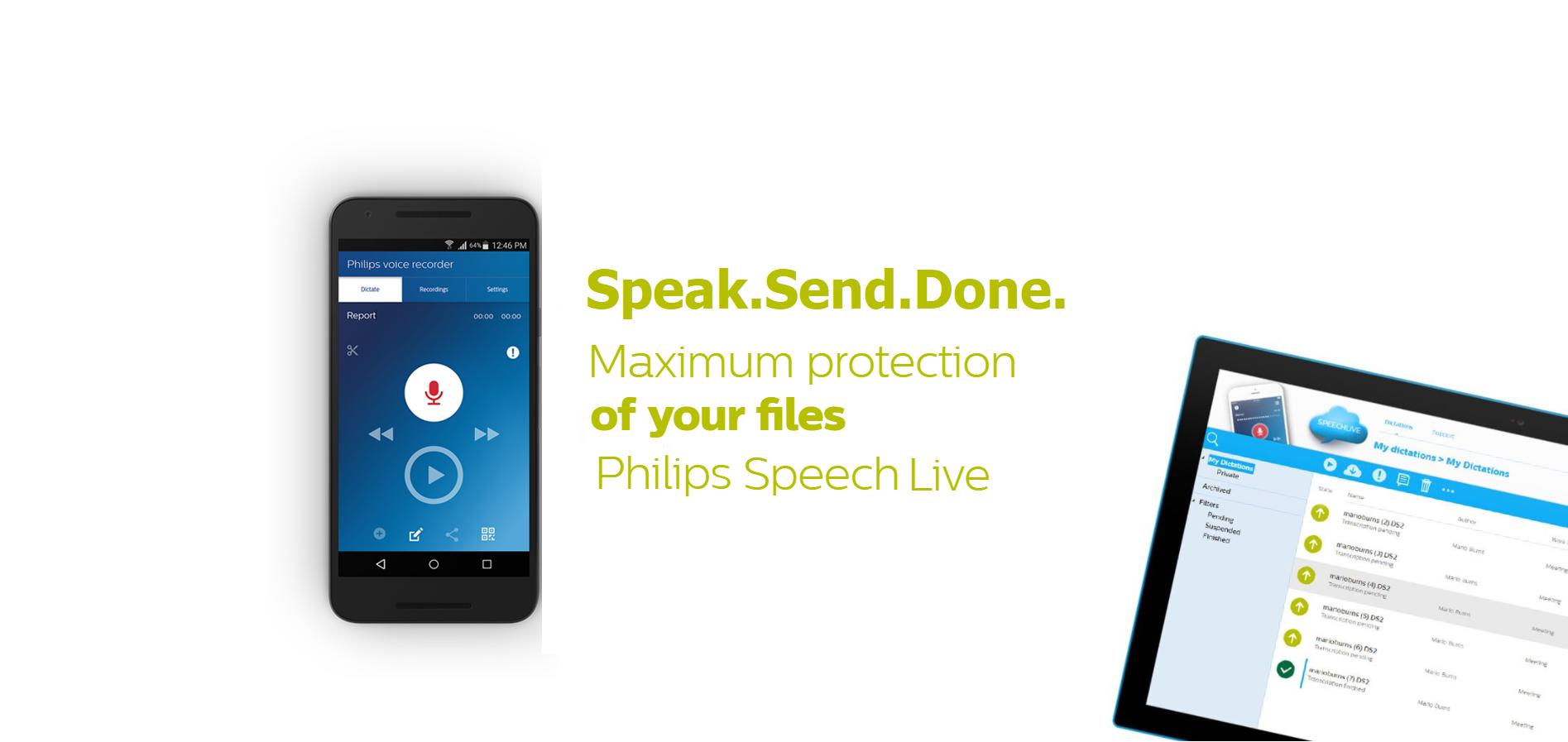 Philips Speech Live Make Digital Dictation Easy