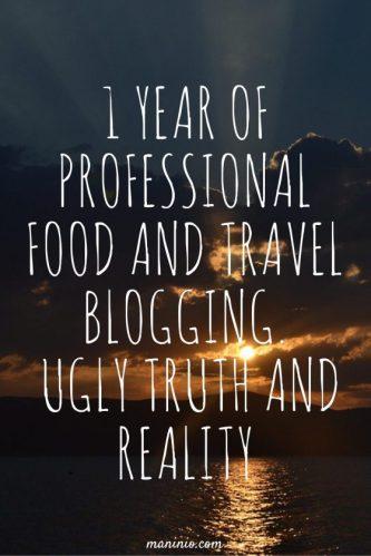 1 year of Professional Blogging