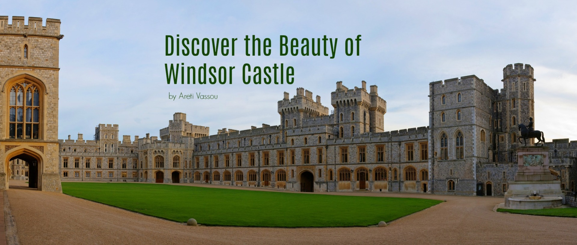 Discover the beauty of Windsor Castle England