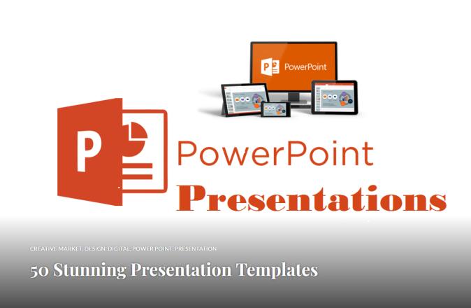 50 Stunning Presentation Templates by Ideadeco