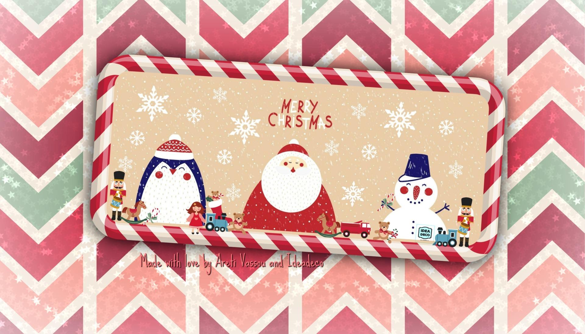 MERRY CHRISTMAS by IDEADECO ARETI VASSOU