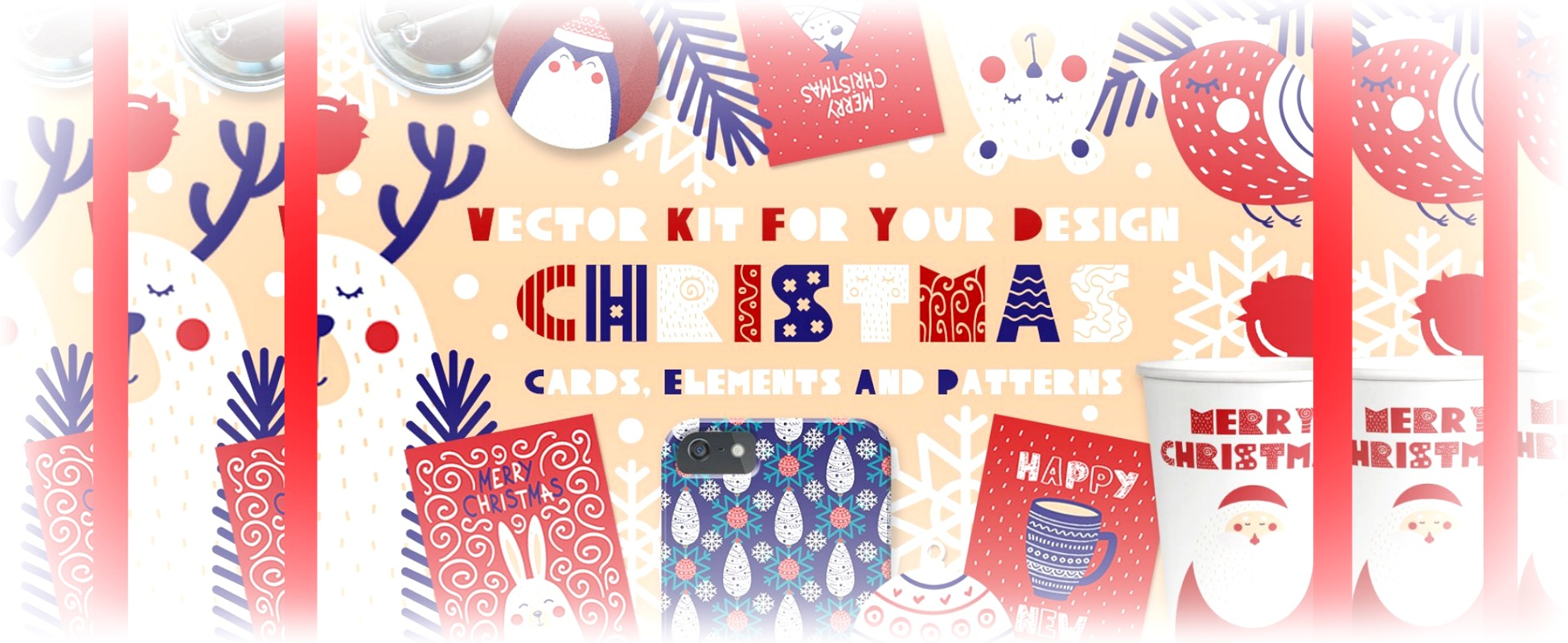 Creative Market Christmas Free Goods