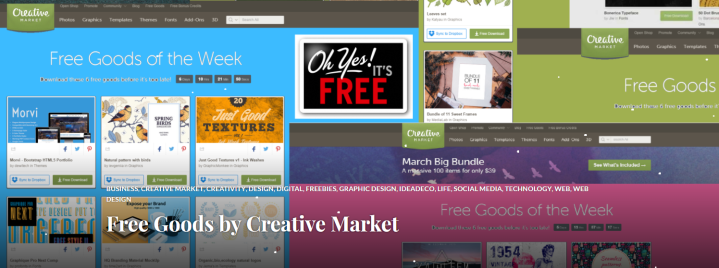 Free Goods by Creative Market