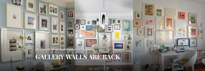 Gallery Walls are Back