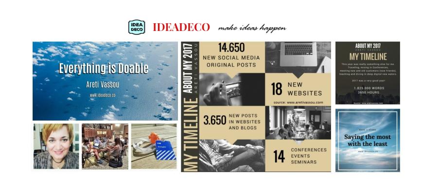 Ideadeco + Areti Vassou 2017 Statistics
