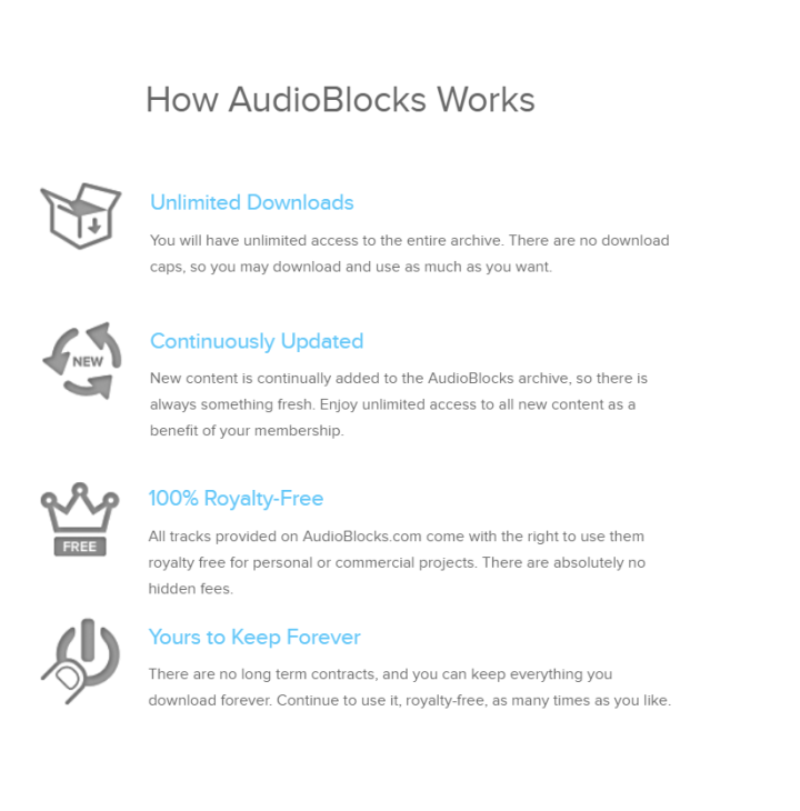 Royalty Free Music AudioBlocks