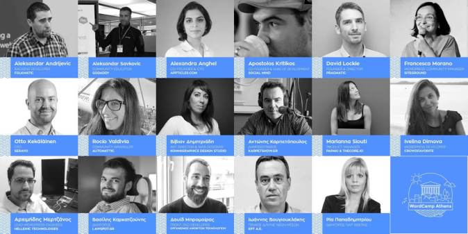 WordCamp Athens 2017 Speakers