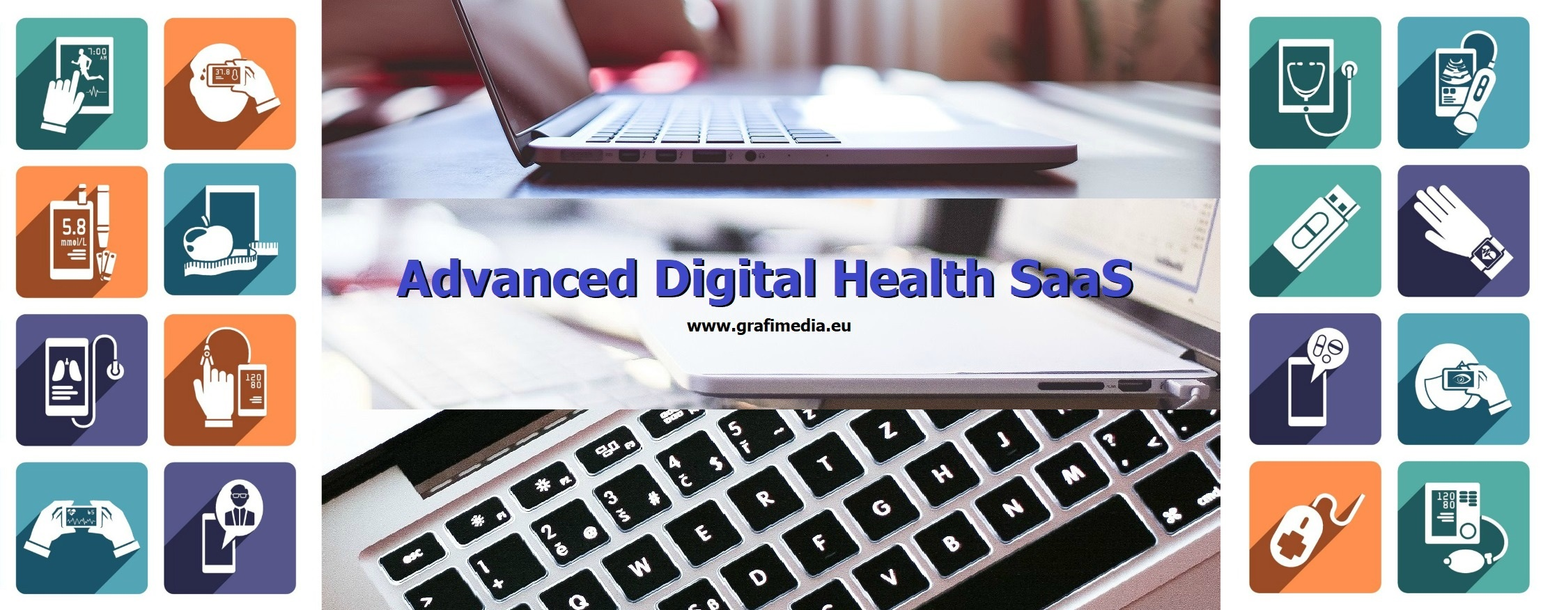 Advanced Digital Health SaaS Grafimedia