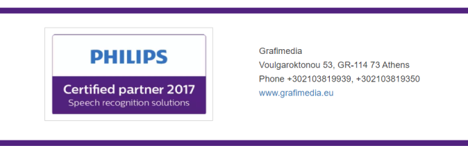 Grafimedia Certified Philips Partner