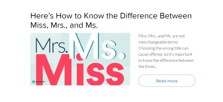 Grammarly Blog Posts