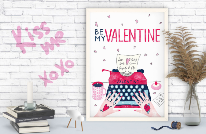 Valentine Graphic Designs by Creative Market