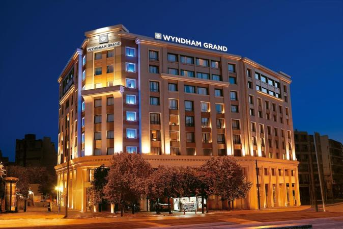 hotel wyndham grand athens greece