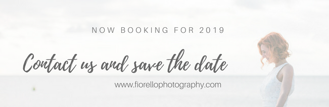 Now booking for 2019 Fiorello Photography