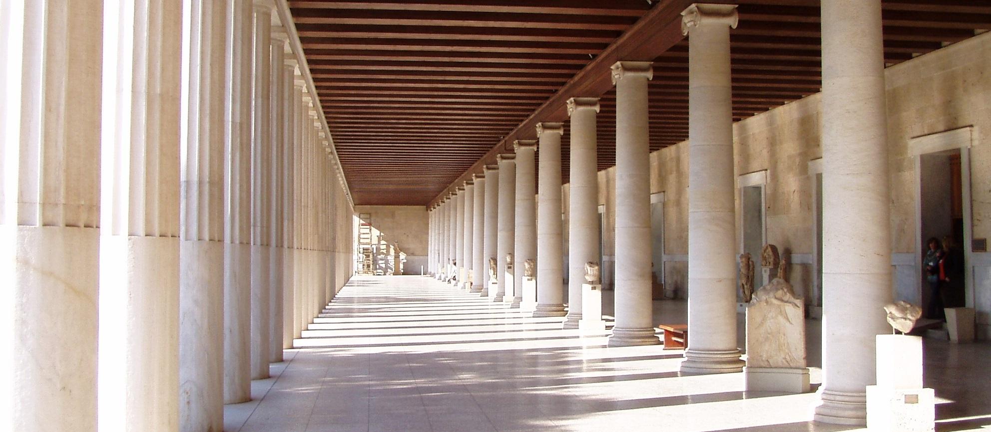 Experiential Open Dialogue at Ancient Agora Athens