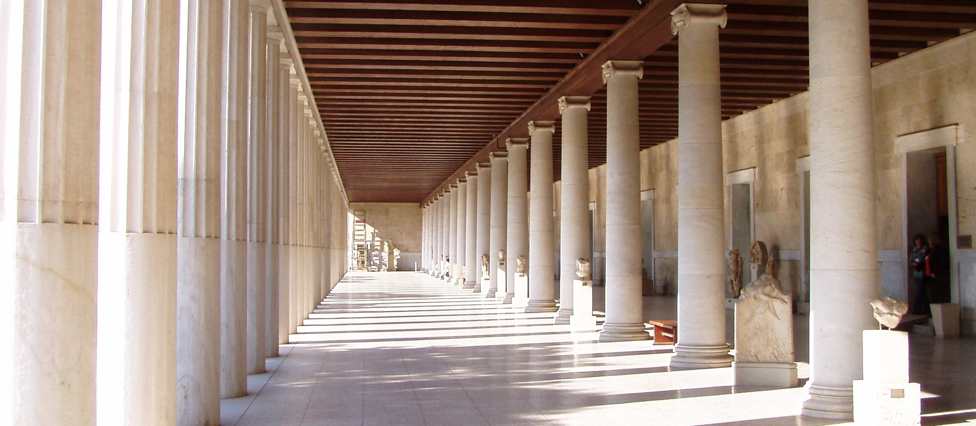 Experiential Open Dialogue at Ancient Agora Athens Stoa of Attalos by VSN HUB Vicky Evangeliou
