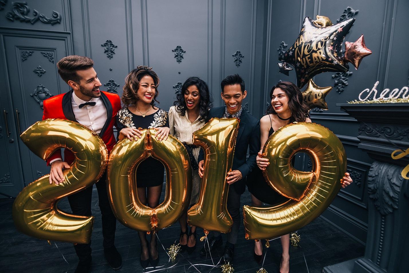 Happy New Year 2019 Areti Vassou Ideadeco