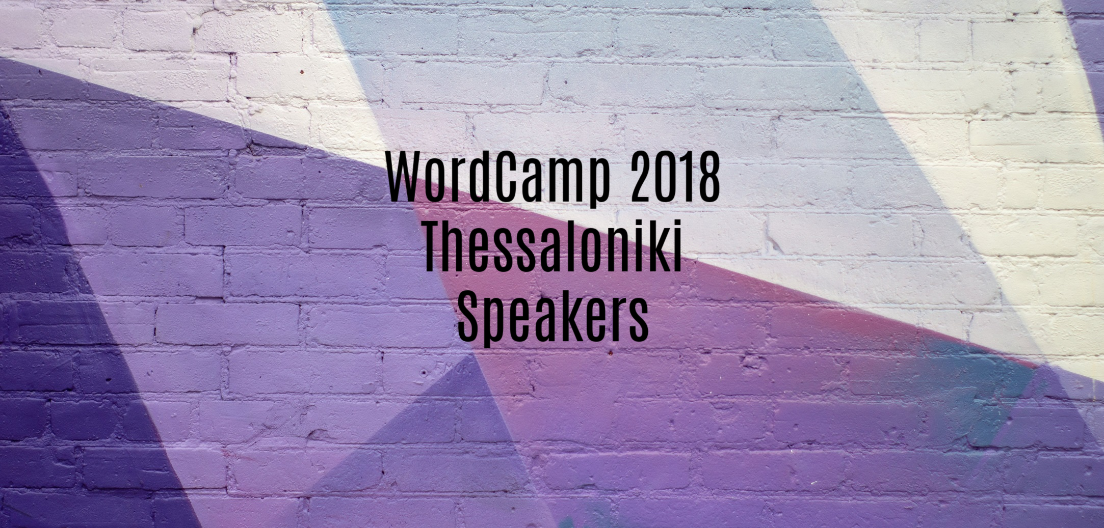 WordCamp Thessaloniki Speakers