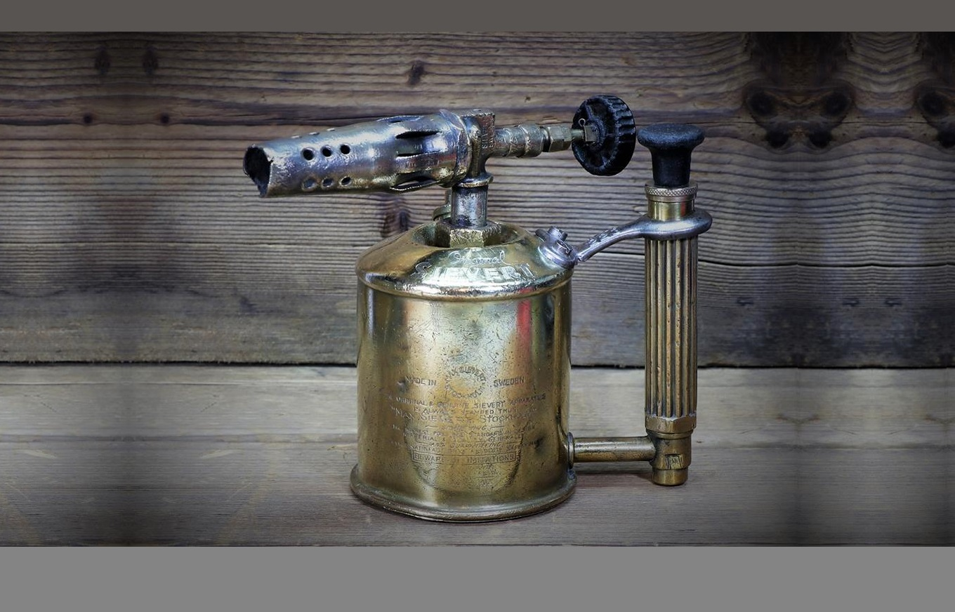 Original Max Sievert Brass Blow Torch