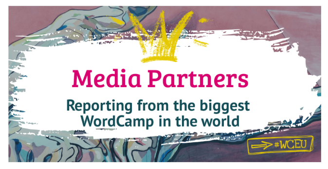 WordCamp Europe 2019 Official Media Partners & Supporters