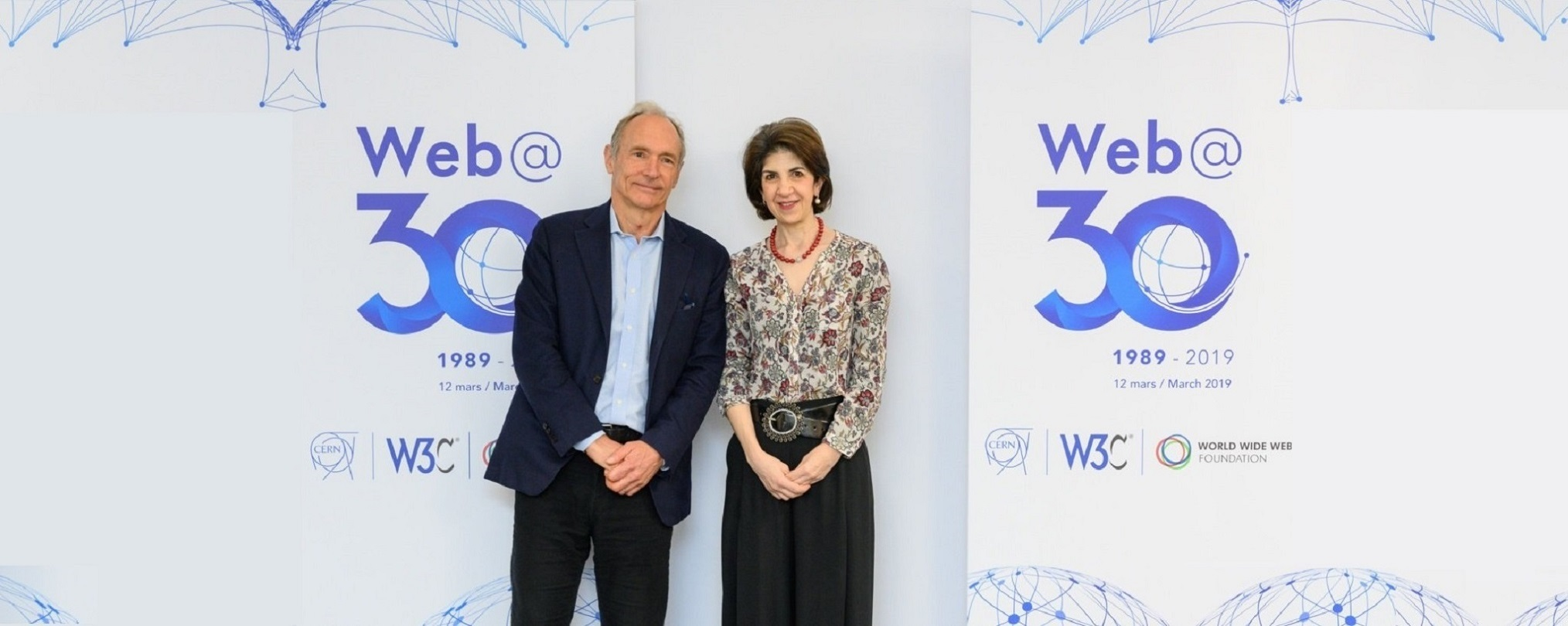 12 March 2019 Celebrations for the web 30th birthday