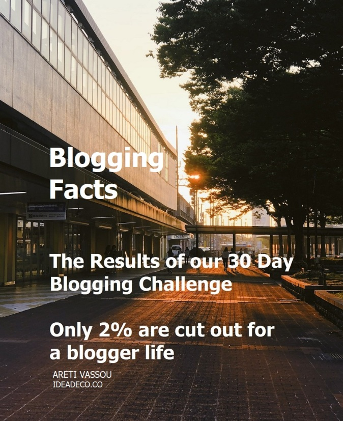 The Results of our 30 Day Blogging Challenge