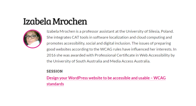 Design your WordPress website to be accessible and usable – WCAG standards