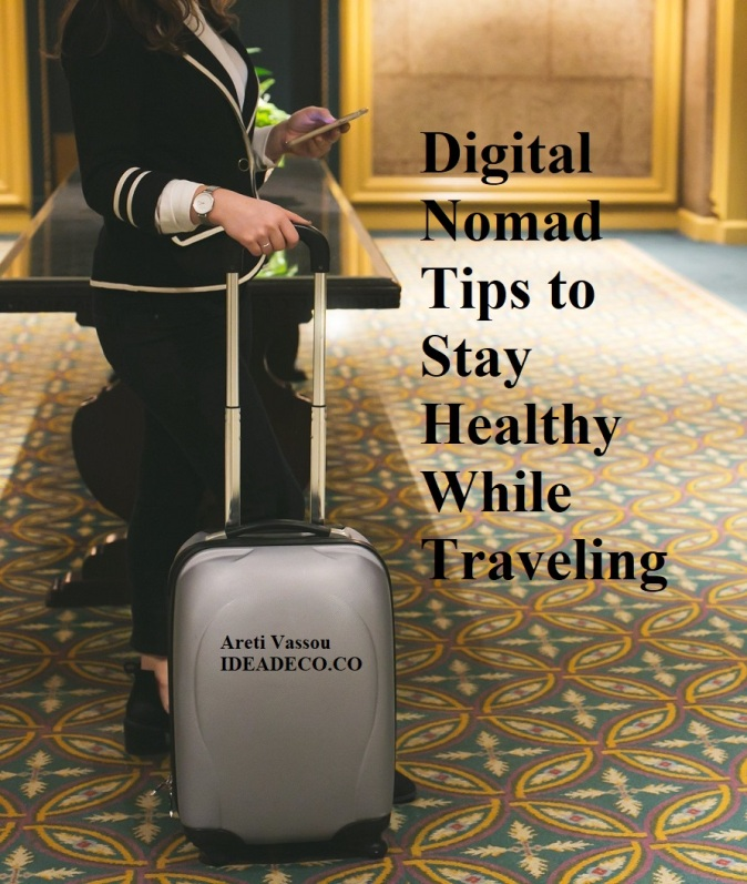 Digital Nomad Tips to Stay Healthy While Traveling