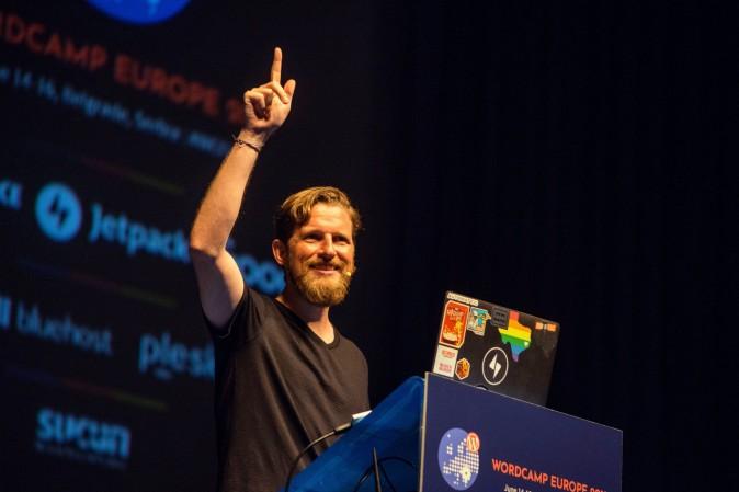 Matt Mullenweg as Keynote Speaker at WordCamp Europe 2019
