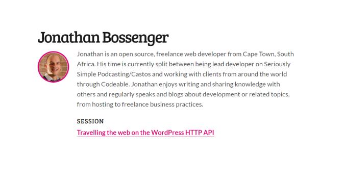 Travelling the web on the WordPress HTTP API by Jonathan Bossenger