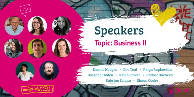WordCamp Europe 2019 Speakers Business II