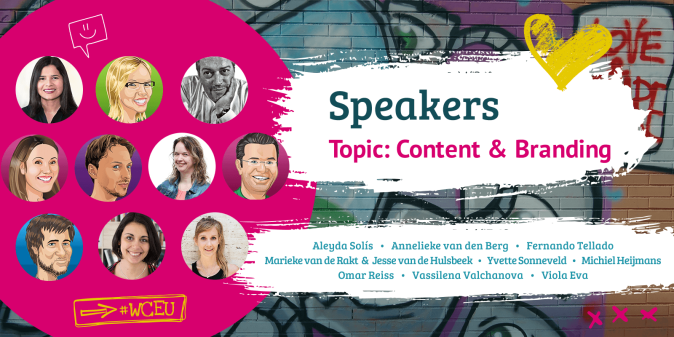 WordCamp Europe 2019 Speakers, Content & Branding