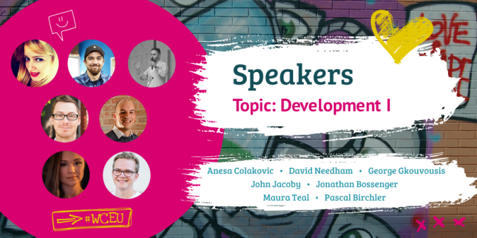 WordCamp Europe 2019 Speakers, Development I
