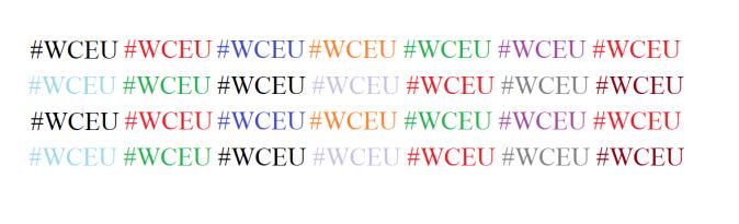 #WCEU